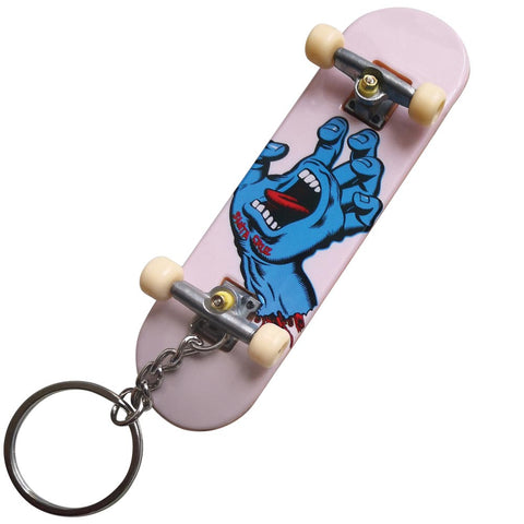 Santa Cruz Screaming Hand Fingerboard Keychain