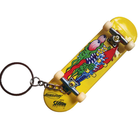 Santa Cruz Slasher Fingerboard Keychain