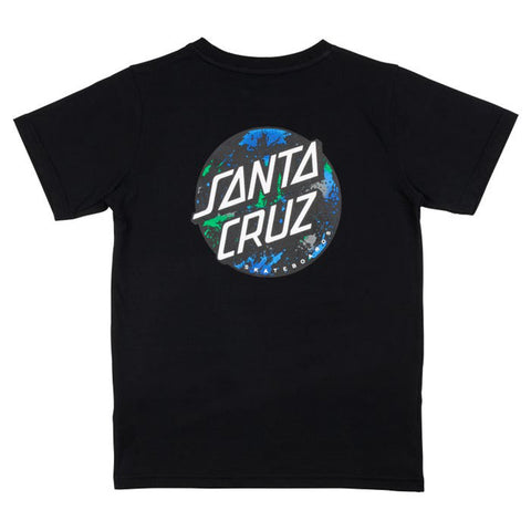 Santa Cruz Youth Dot Splatter T-Shirt