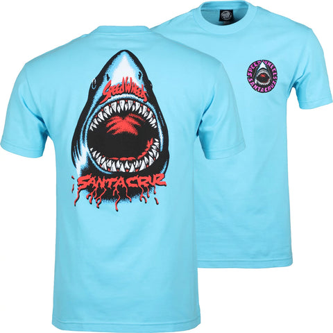 Santa Cruz Speed Wheels Shark T-Shirt