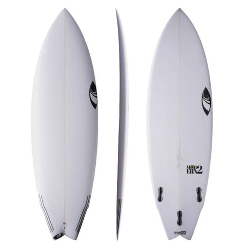 Sharp Eye Modern 2 6' FCS2 Swallow Tail Surfboard