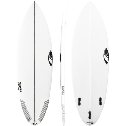 Sharp Eye Modern 2.5 5'10 FCS2 Five Fin Surfboard