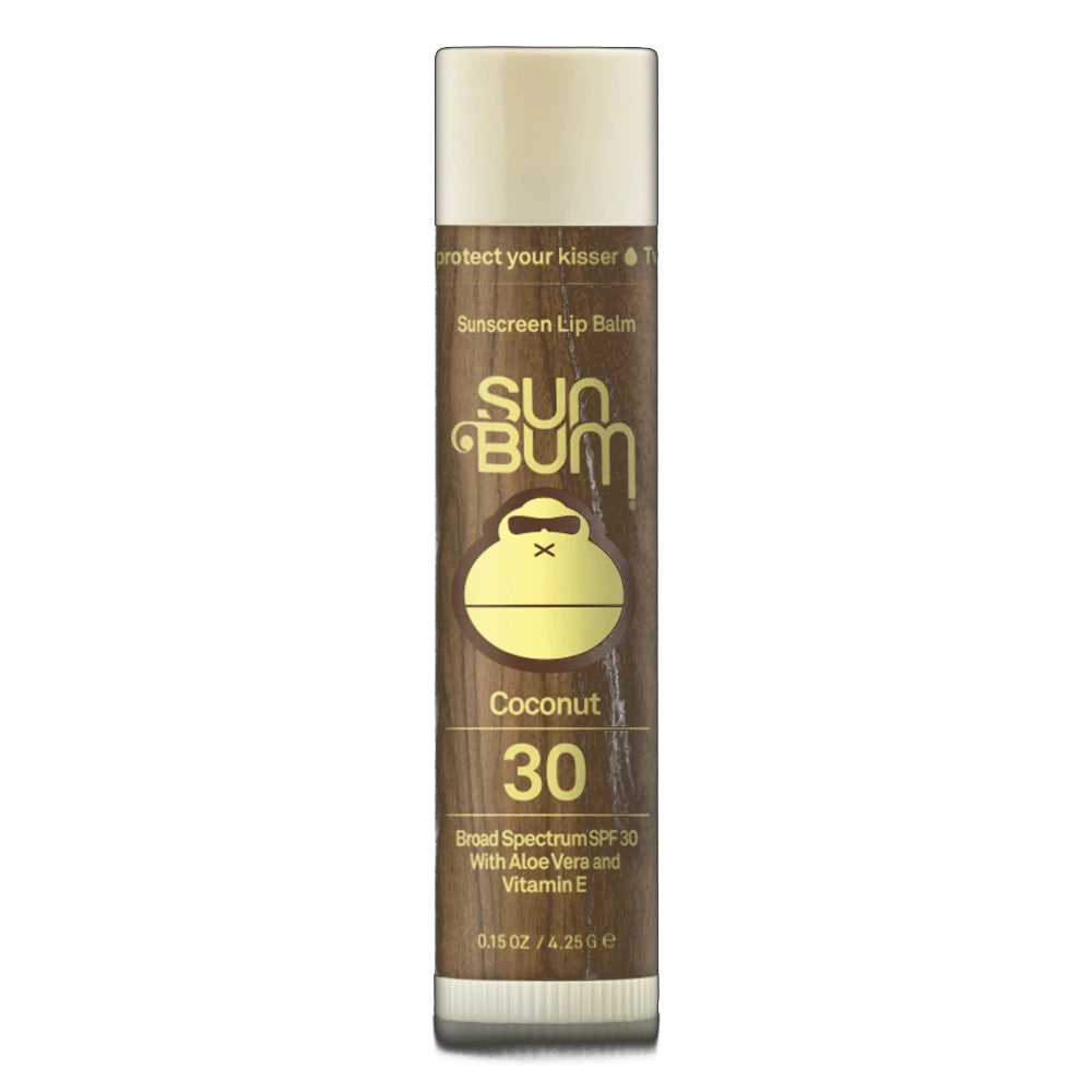 Sun Bum Original SPF 30 Sunscreen Lip Balm - Coconut