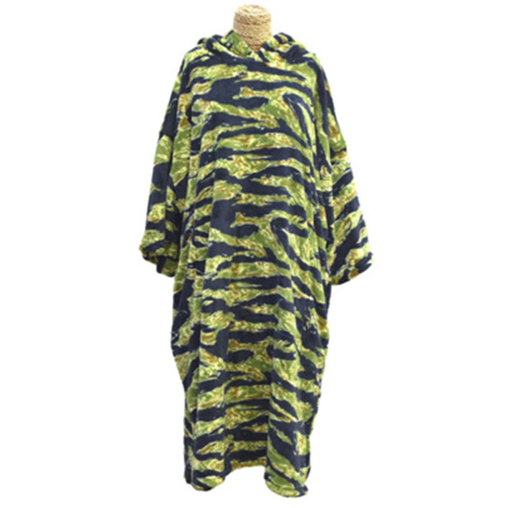 Tools Tiger Camo Fiber Changing Robe