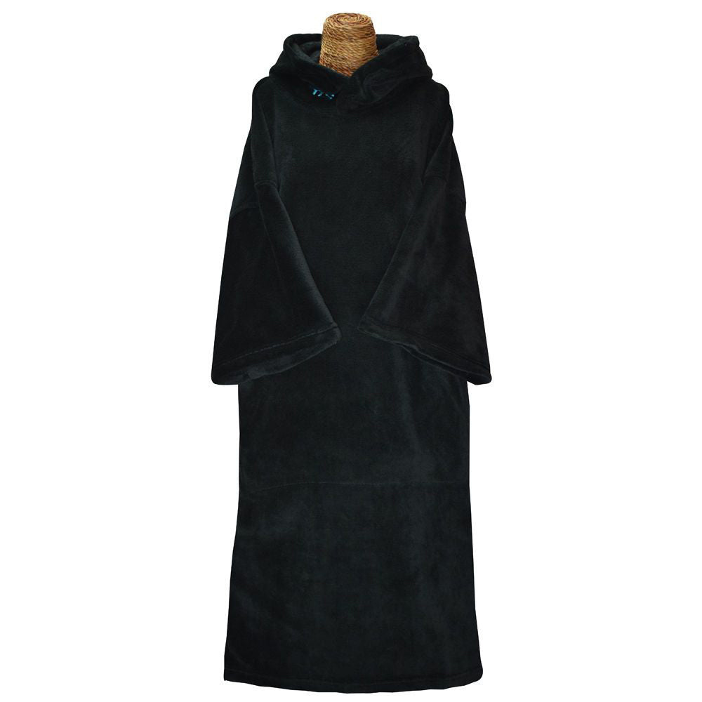 Tools Solid Black Fiber Changing Robe