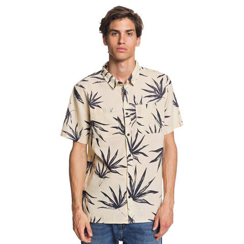 Quiksilver Deli Palm Short Sleeved Shirt