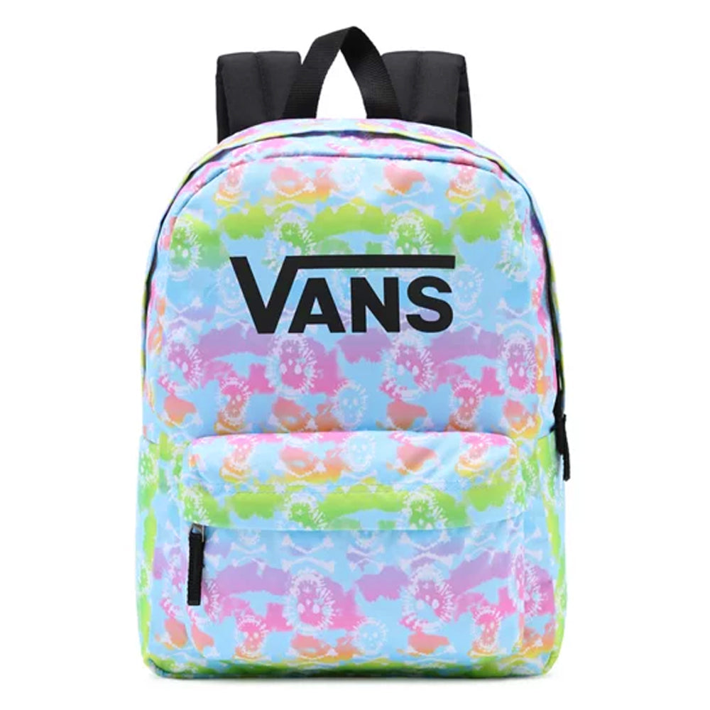 Vans Girls Realm Backpack  - Rainbow Skull