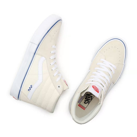 Vans Skate Sk8-Hi Skate Shoes - Off White