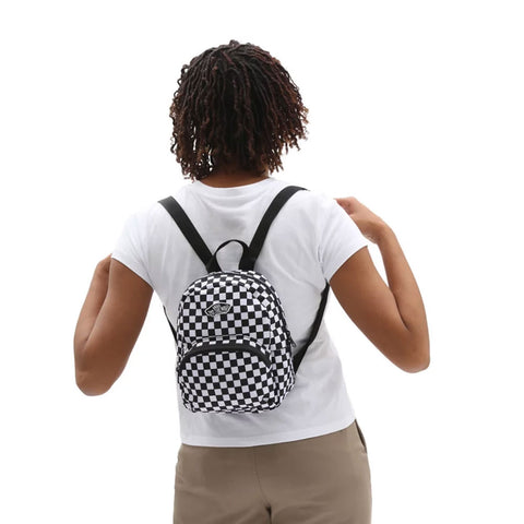 Vans Womens Got This Mini Backpack  - Black/White Check