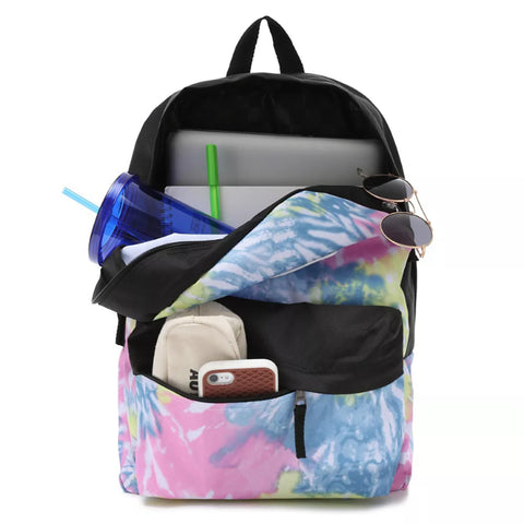 Vans Womens Realm Backpack  - Tie Dye Orchard