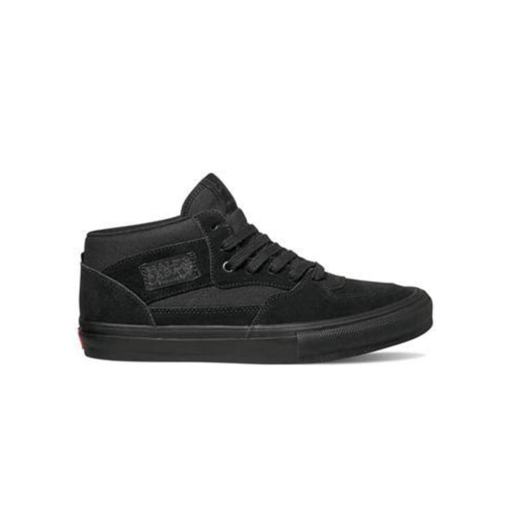 Vans Skate Half Cab Skate Shoes  - Black/Black