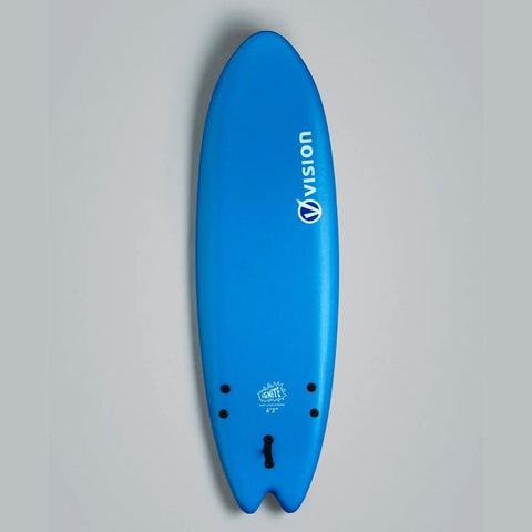 Vision Surfboard XPS Ignite - 6'2' Soft Surfboard Blue