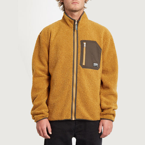 Volcom Muzzer Fuzzar Zip Fleece