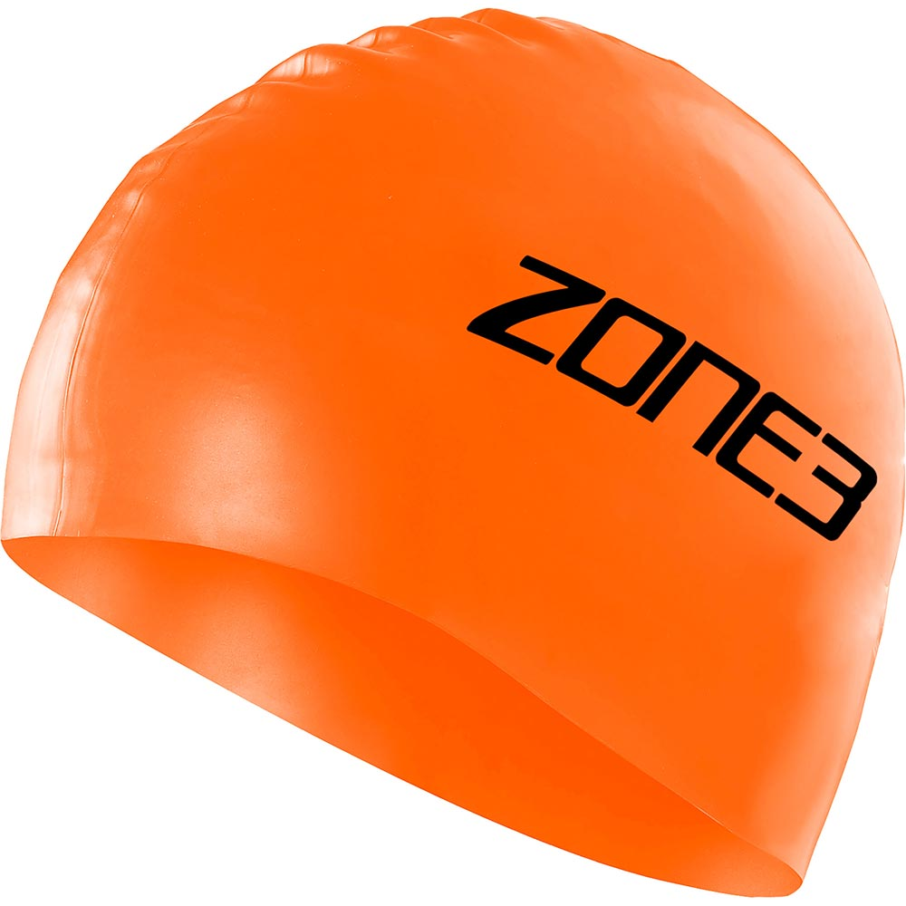 Zone 3 Silicone Swim Cap