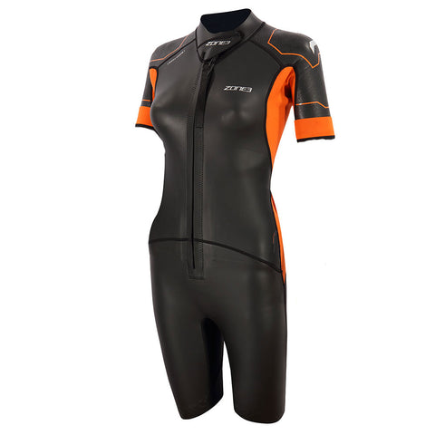 Zone 3 Womens Versa Swim Run Swimming Wetsuit