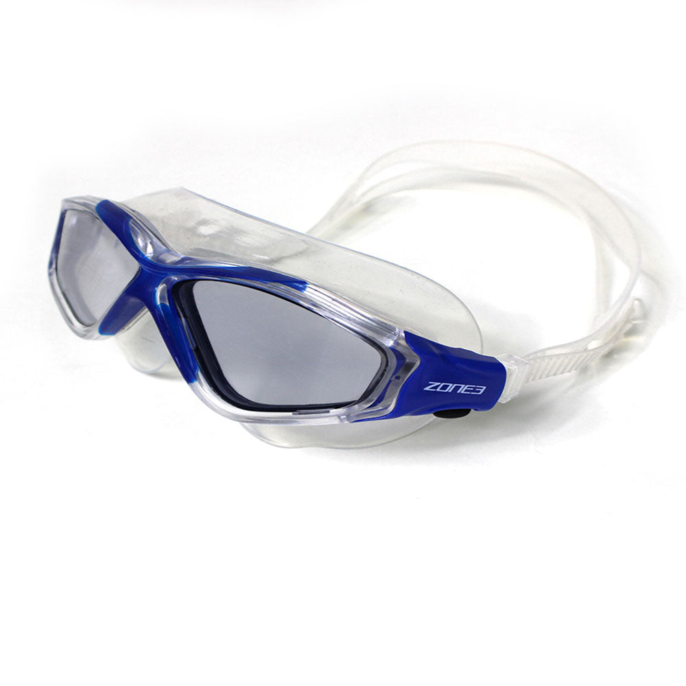 Zone 3 Vision Max Swim Mask  - Blue/Clear
