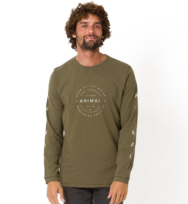 Animal Fear Long Sleeved T Shirt