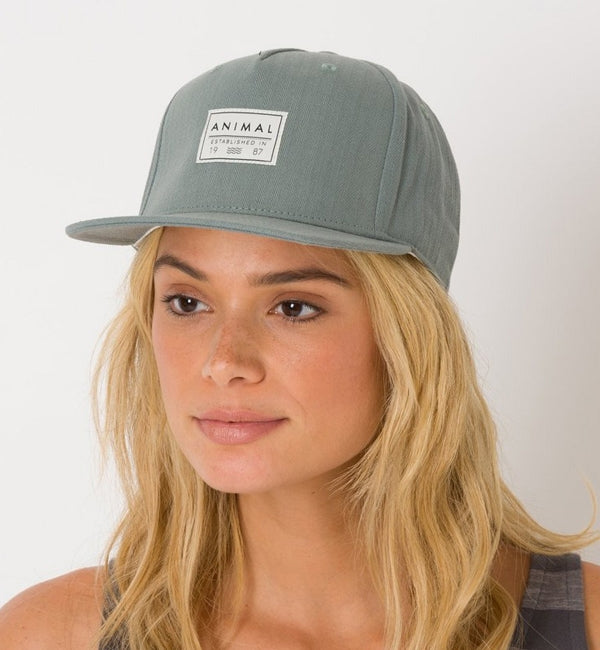Animal Womens Instinct Flat Peak Cap