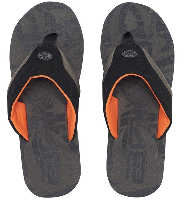 Animal Jekyl Logo Flip Flops - Grey