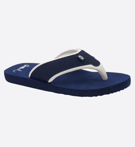 Animal Womens Swish Block Flip Flop  - Mid Navy Blue