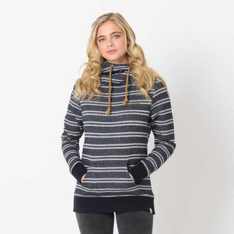 Animal Womens Wrapped Up Longline Hoodie