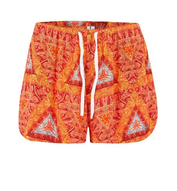 Animal Paige Womens Printed Woven Short