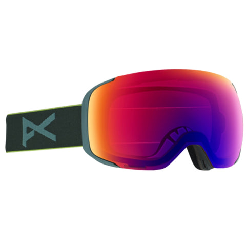 Anon M2 Snowboard/Ski Goggles With Spare Lens - Grey Pop/Sonar
