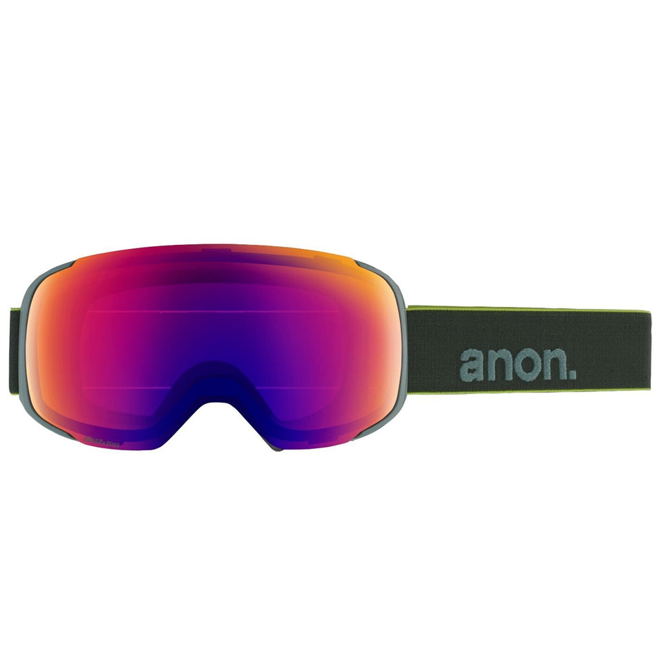 Anon M2 Snowboard/Ski Goggles With Spare Lens  - Grey Pop/Sonar I