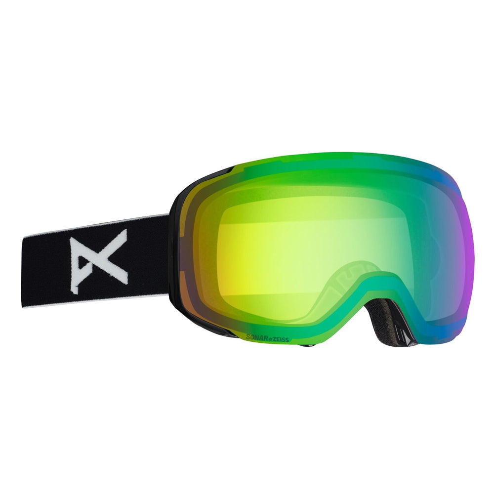 Anon M2 SnowboardSki Goggles With Spare Lens  - BlackSonar Gree2