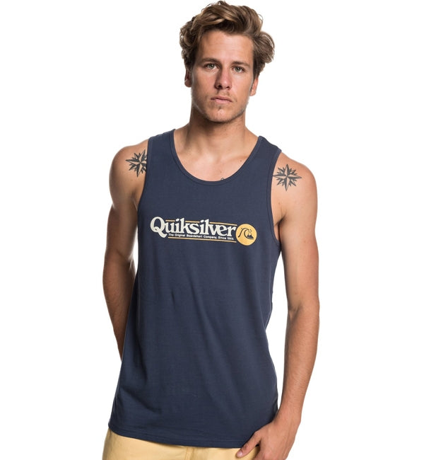 Quiksilver Art Tickle Tank Top Short Sleeved T Shirt