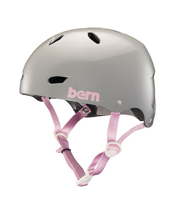 Bern Brighton H20 Satin Grey Helmet