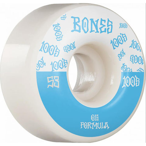 Bones 100's V4 Skateboard Wheels