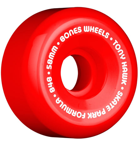 Bones Hawk Mini Cube Red Skateboard Wheels