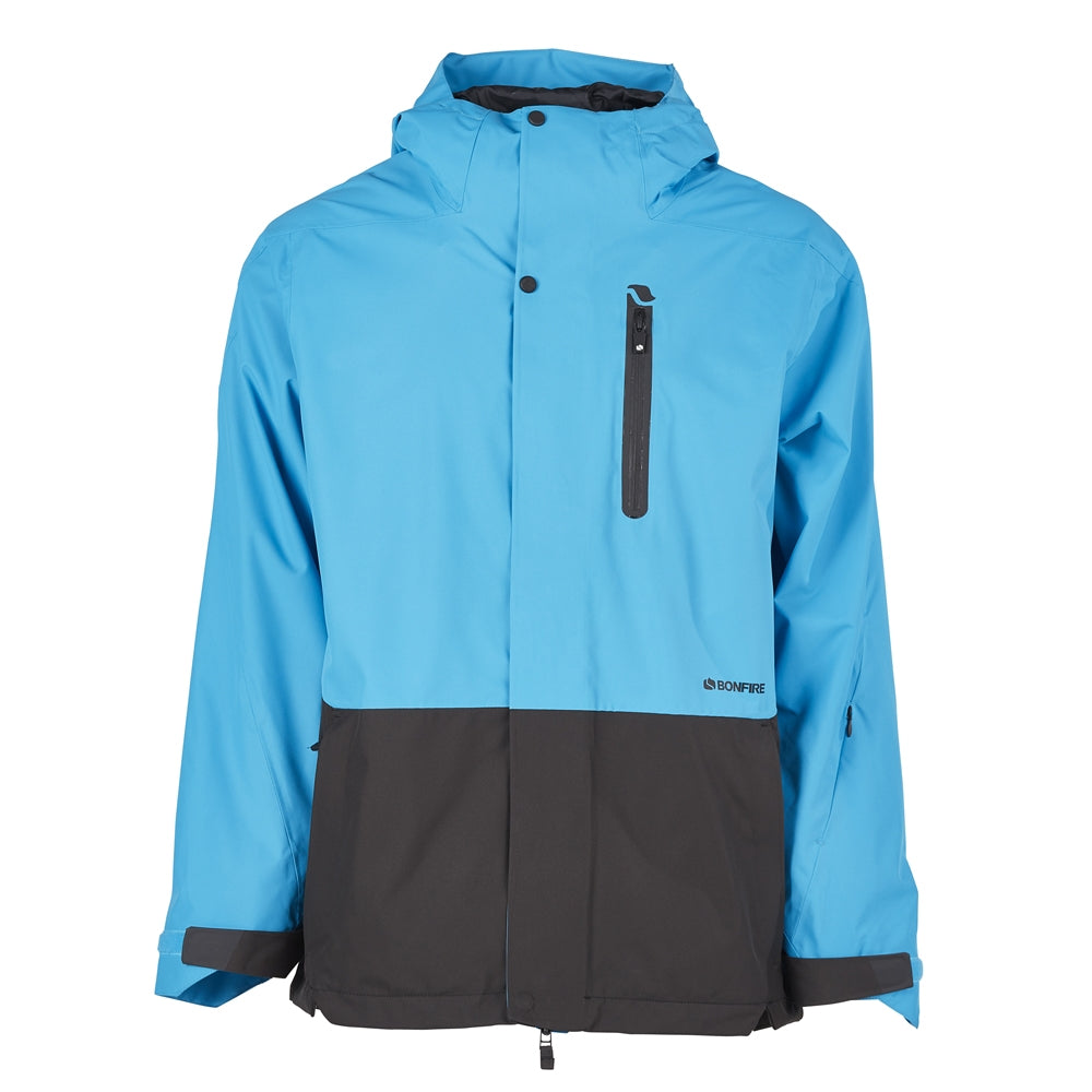 Bonfire Ether Insulated Snowboard/Ski Jacket - Cyan