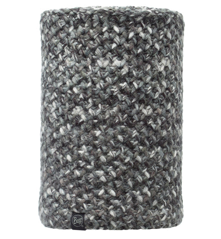 Buff Margo Grey Black Knitted Neckwarmer