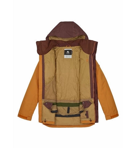 Burton Breach Snowboard Ski Jacket Golden Oak