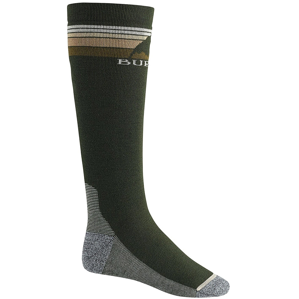 Burton Emblem Snowboard Socks - Forest Night