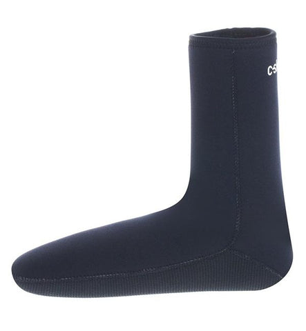 C Skins Legend 4mm Wetsuit Socks  - Black