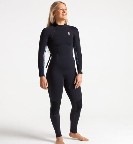 C Skins Womens Solace 4/3 GBS Back Zip Full Wetsuit