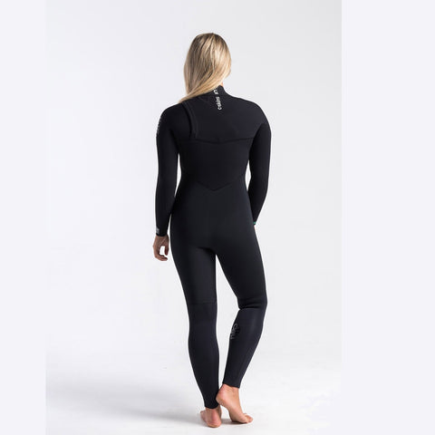 C-Skins Womens ReWired 5/4mm GBS Chest Zip Full Winter Wetsuit
