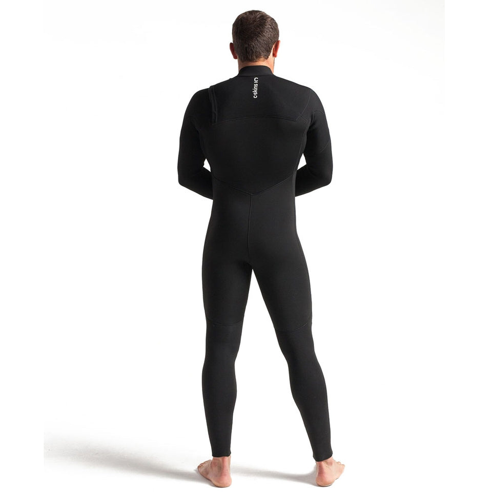 C-Skins Session 5/4/3 GBS Chest Zip Full Winter Wetsuit - Black