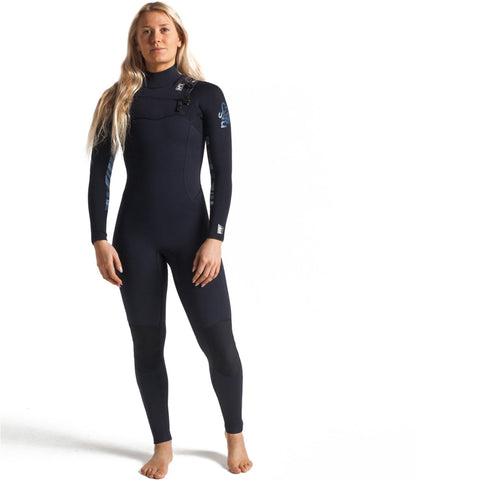 C-Skins Womens Solace 4/3mm GBS Chest Zip Full Wetsuit