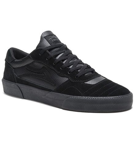 Lakai Cambridge - Black Gold Suede Skate Shoes