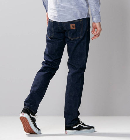 Carhartt Klondike Blue Stretch Denim Trousers
