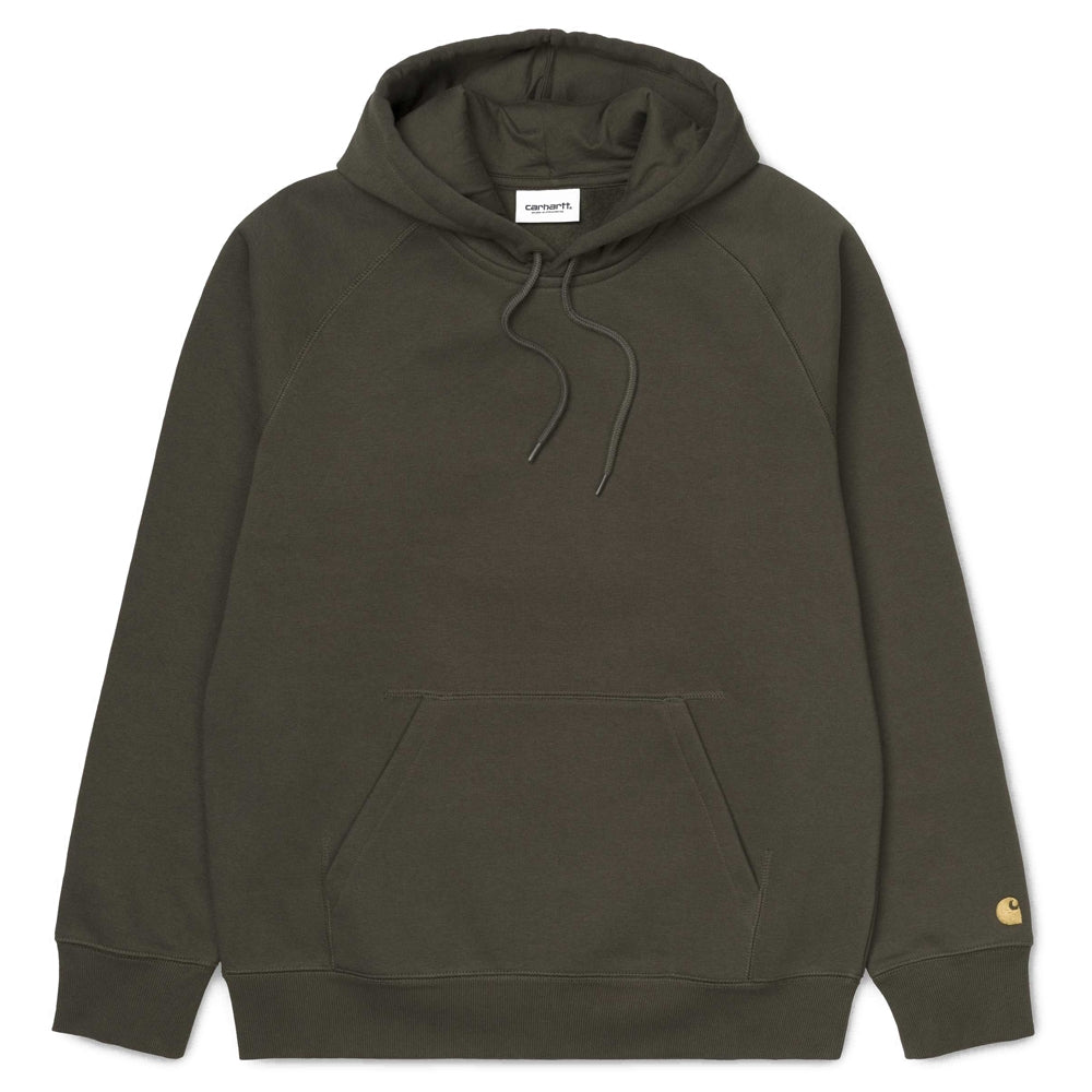 Carhartt Chase Hoodie - Cypress/Gold