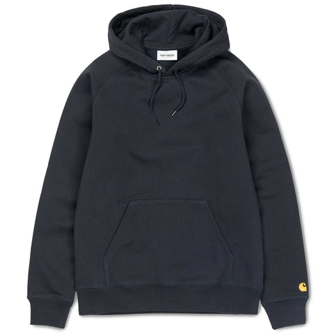 Carhartt Chase Sweatshirt - Dark Navy-Gold