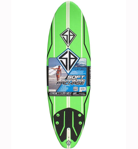 CBC Scott Burke Pro 6ft Soft Surfboard