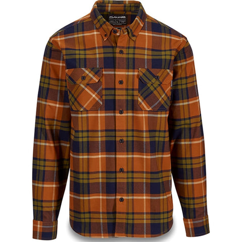 Dakine Reid Tech Flannel Long Sleeved Shirt - Leather Brown