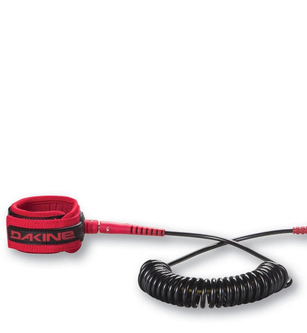 Dakine SUP 10' Colied Ankle Leash - Racing Red