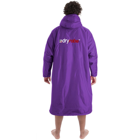 Dry Robe Advance Long Sleeve Purple Grey - Large